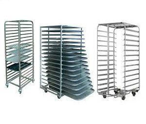 تجهیزات پخت نان وقنادی(میز_کاسکه حمل)